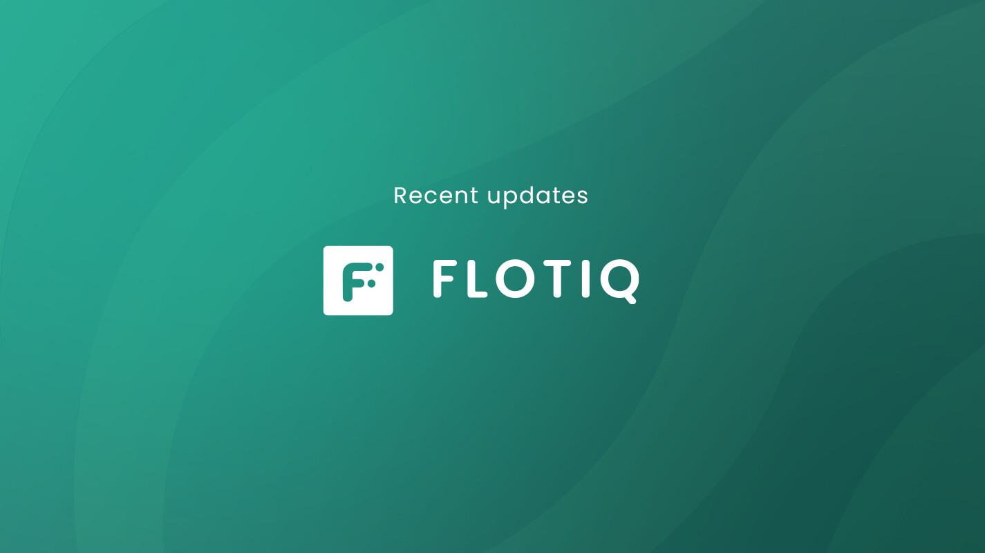 Recent updates in Flotiq (July 2020)