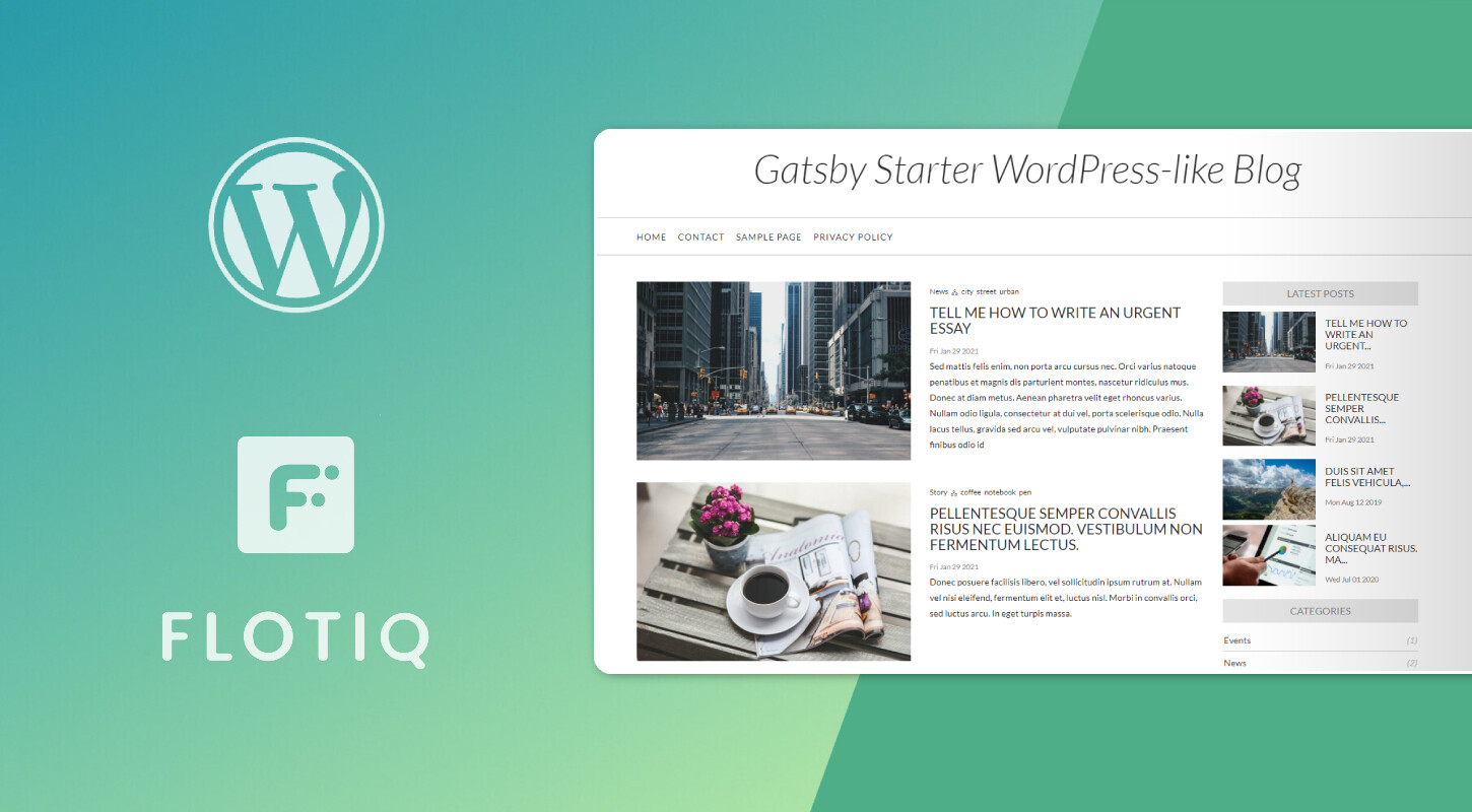 How to move from WordPress to Jamstack using our Gatsby WordPress Starter