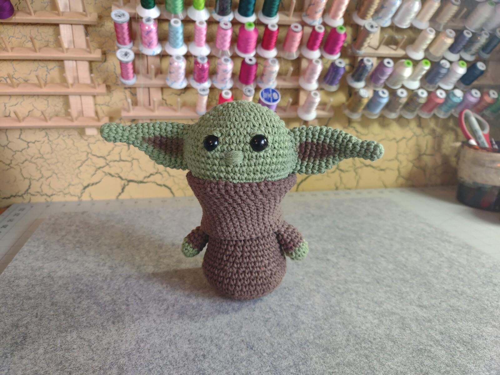 Brown Baby Yoda