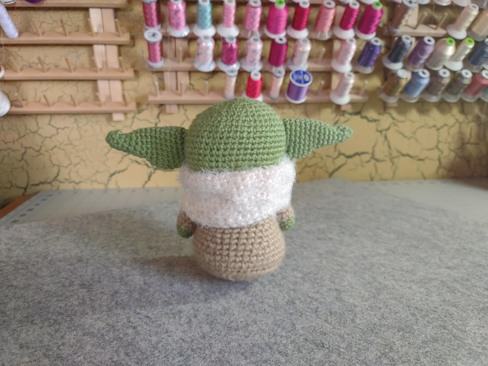 Tan Baby Yoda