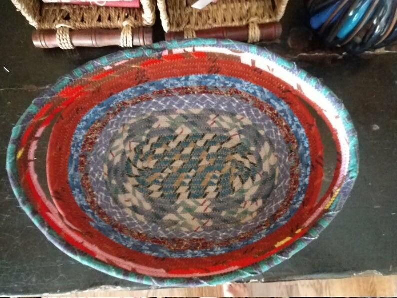 Multi Colored Oval