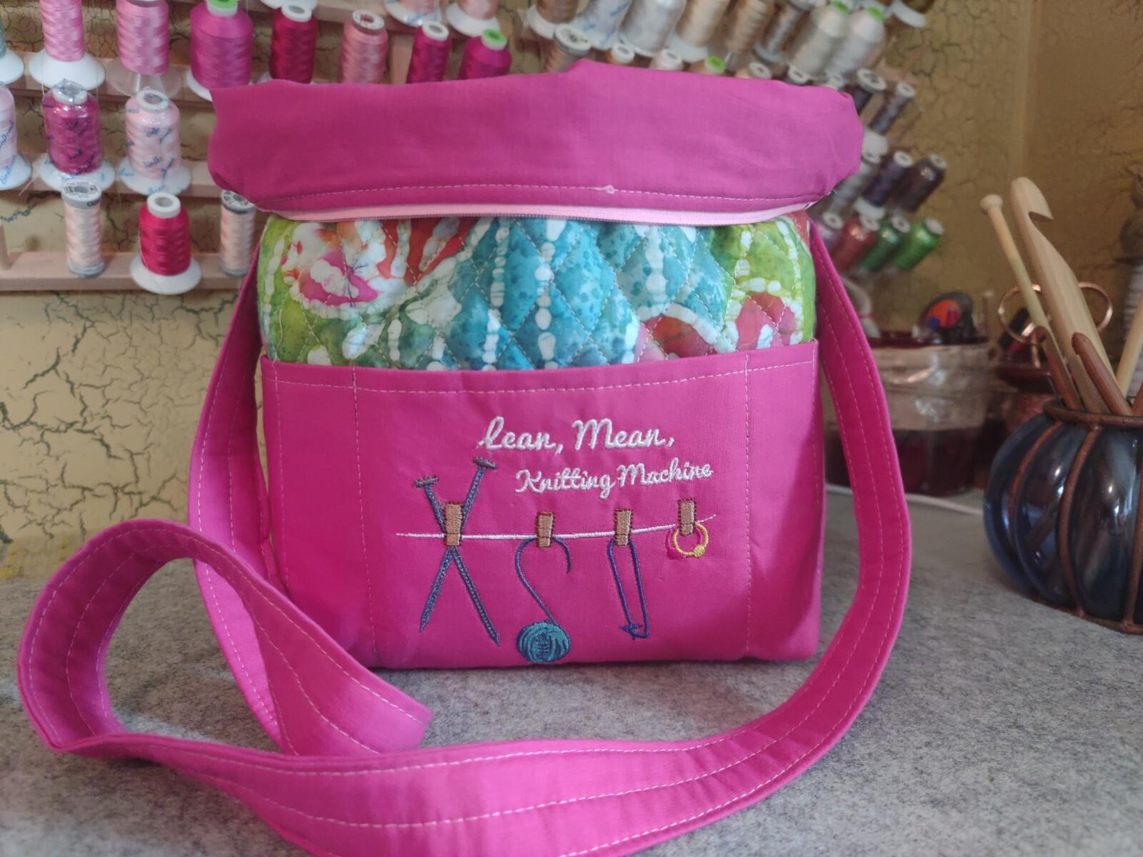 Lean Mean Knitting Machine