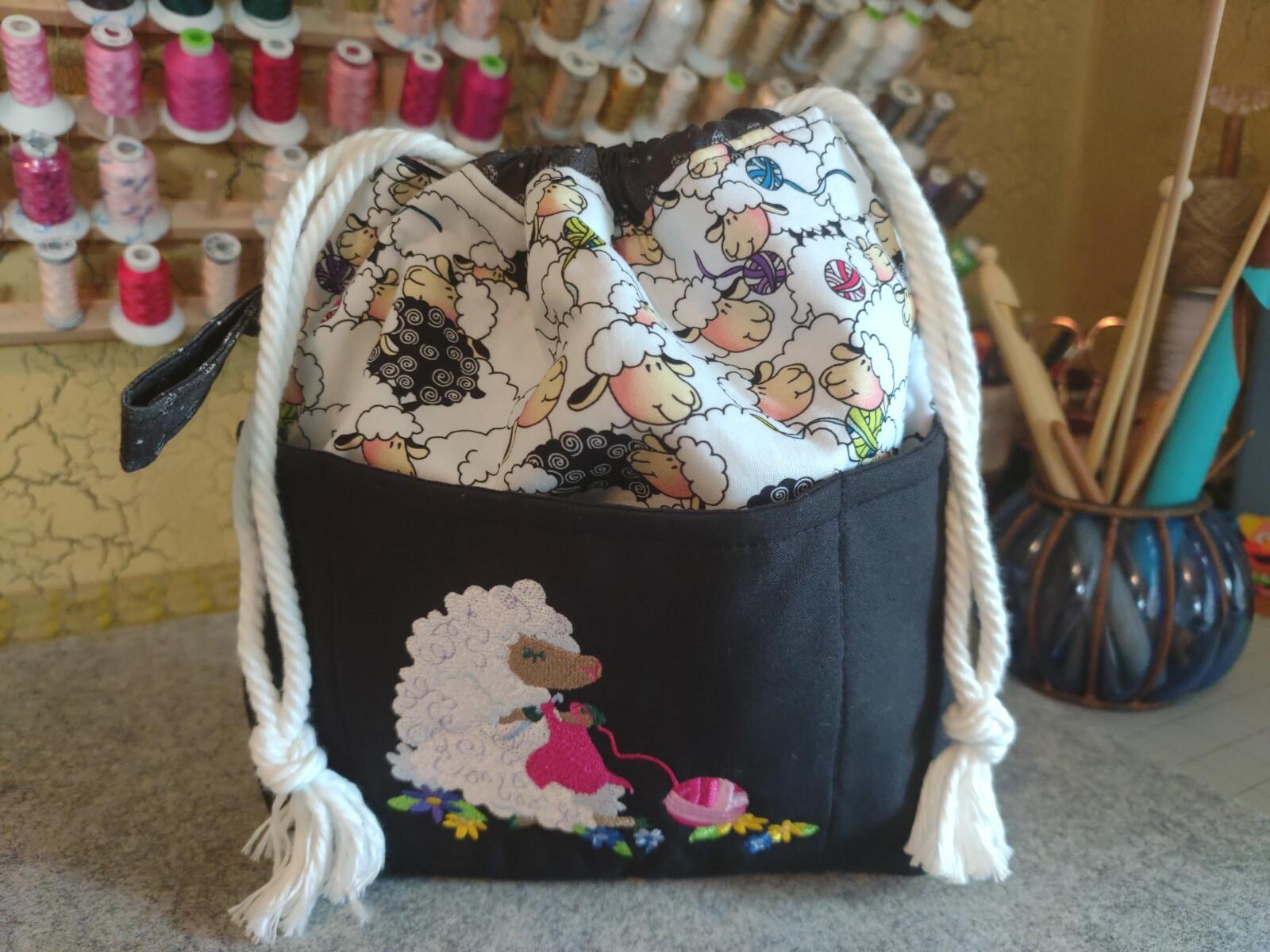 Crocheting Lamb
