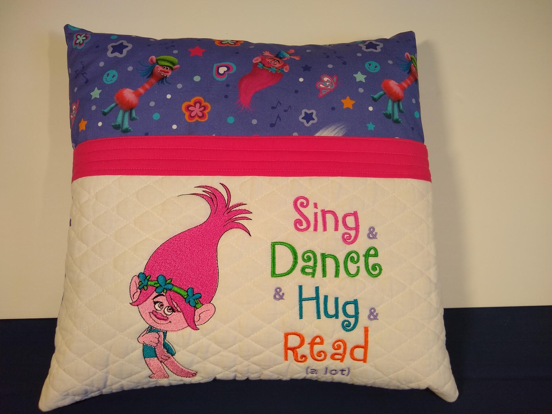 Poppy Troll Pillow