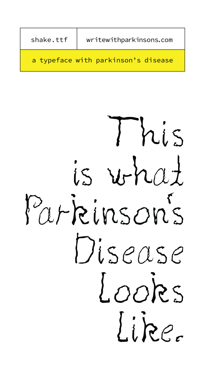 Parkinsons font Instagram Story Image